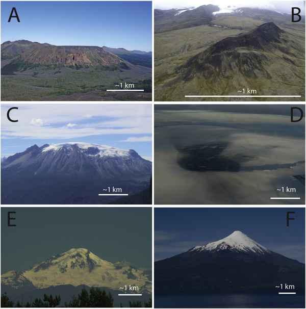 volcanes glaciares