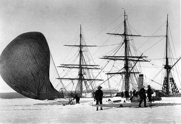 expedición Antártida de Scott en el Discovery, 1901-1904