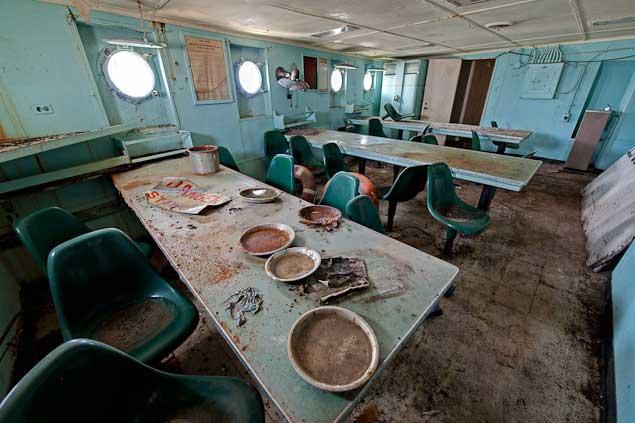 Comedor la flota
