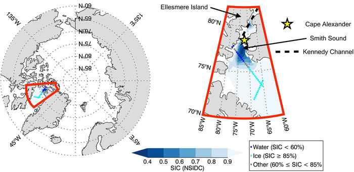 trayectoria del satélite CALIPSO-CloudSat-CERES-MODIS (C3M)