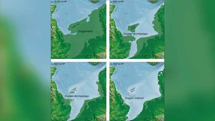 antigua costa del Mar del Norte