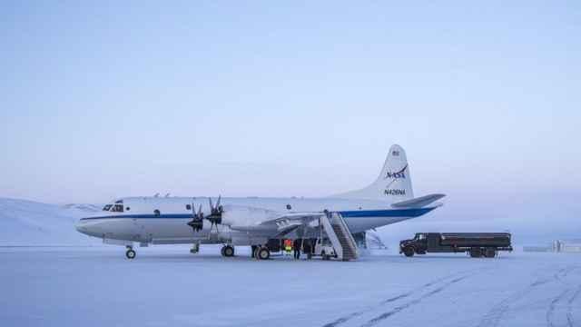 avión de la operación IceBridge