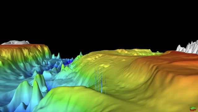liberación de metano del fondo marino