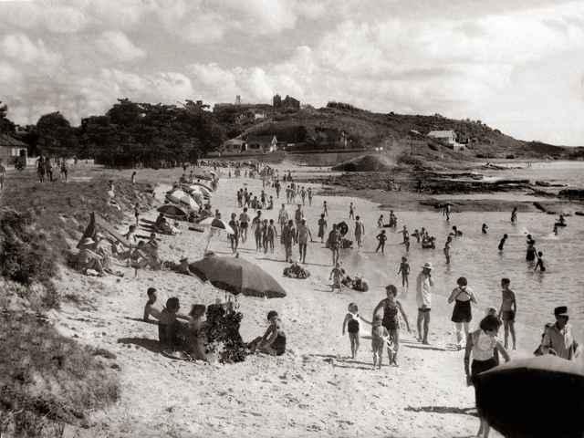 playa de Guarapari, Brasil