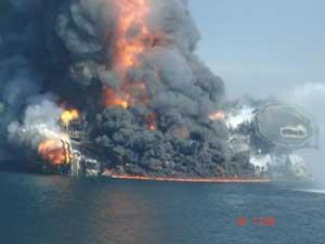 explosión Deepwater Horizon